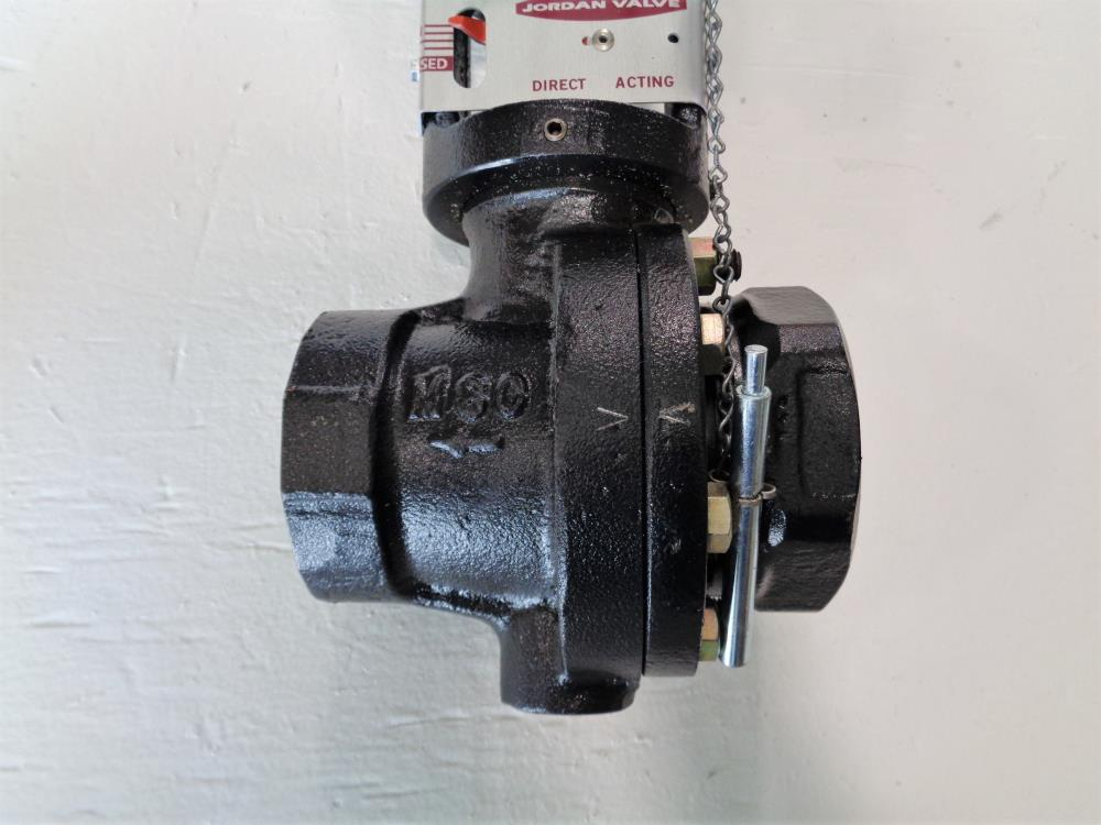 "Jordan 2"" NPT Sliding Gate Valve, Model 86, Range 25 - 60, Carbon Steel"