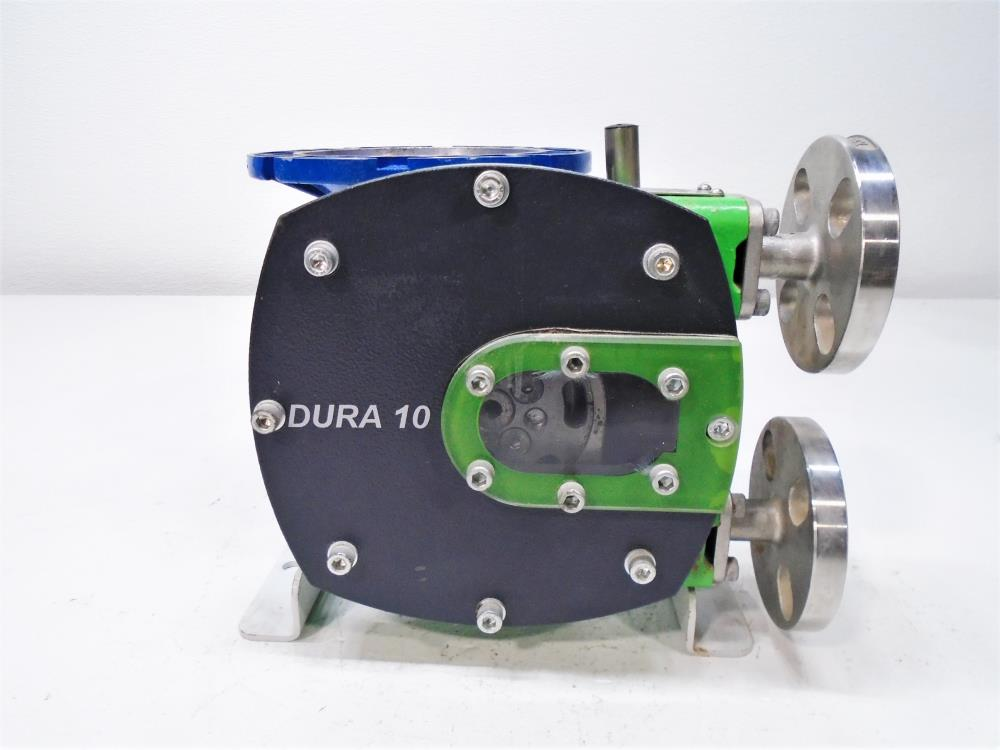 Verder Positive Displacement Pump DURA10 w/ Motovario Gear Reducer NMRV040