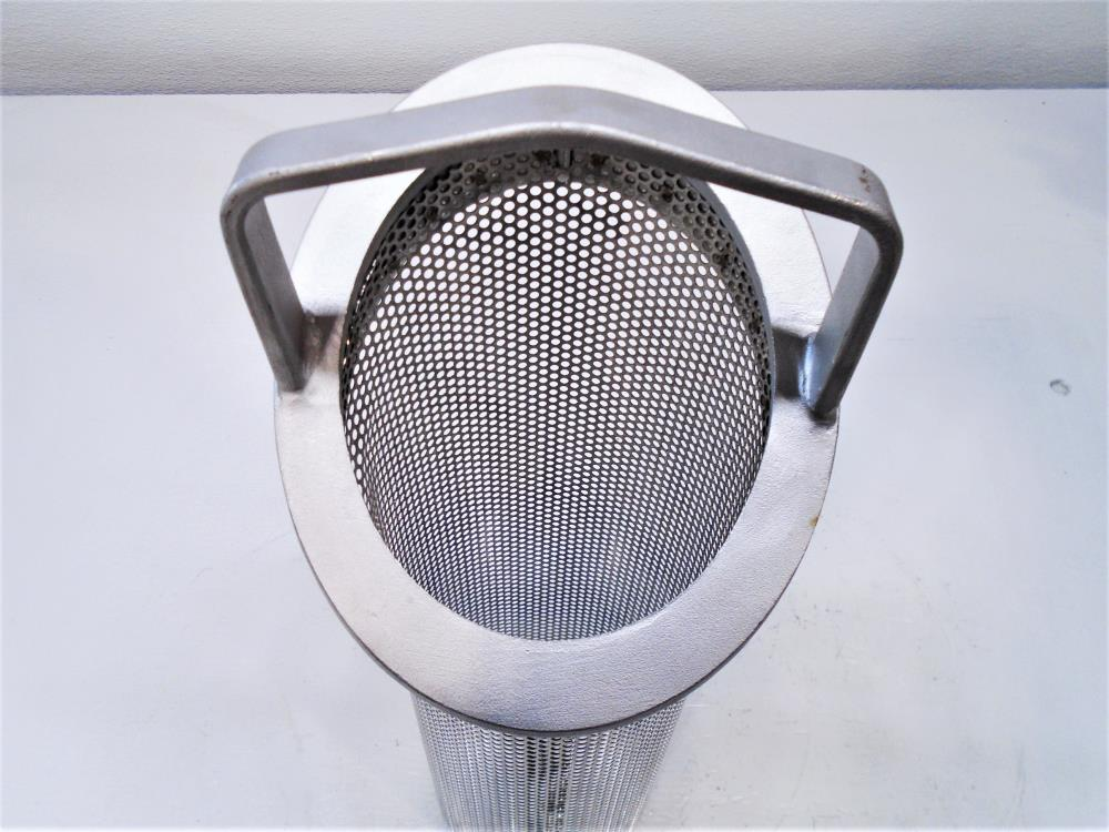 "Hayward Stainless Strainer Basket for 4"" Strainer, Model BS7401/8"