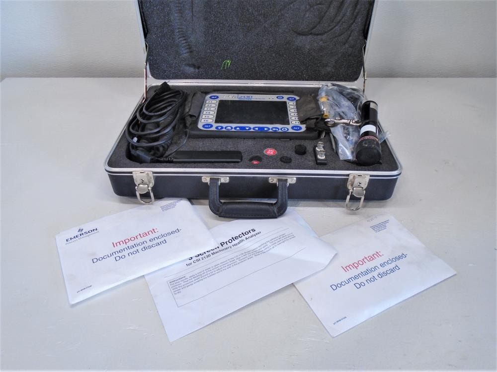 Emerson CSI 2130 Machinery Health Analyzer