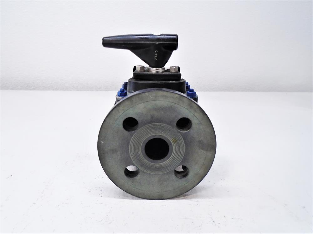 "Advanced Valve 1"" Chevron Ball Valve, AVT 530, Part # 21025100505N7"