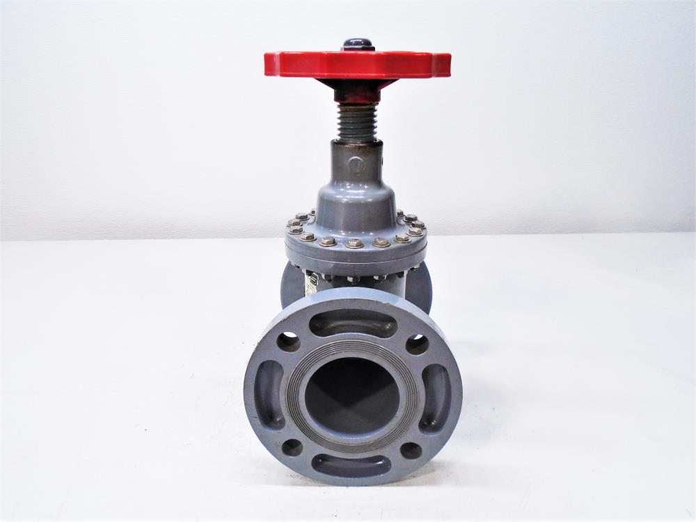 "Spears 3"" CPVC Viton Globe Valve, Part 6033-030C"