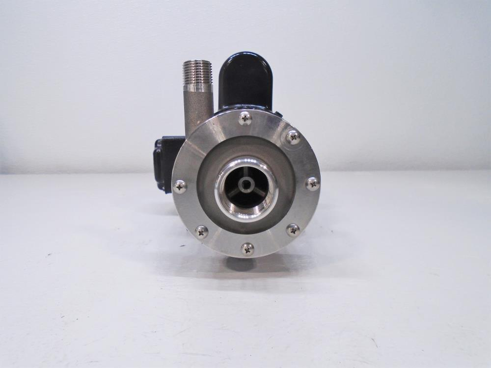 "March 1/2"" x 1"" Magnetic Drive Pump TE-5S-MD Stainless Steel W/ Baldor Motor"