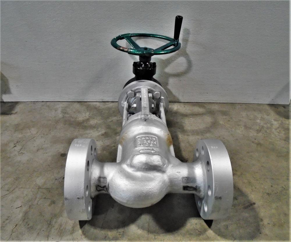 "Xanik 2"" 2500# WCB Gear Operated Globe Valve, Fig# 2""-BP25J-WCB-3-6-E"