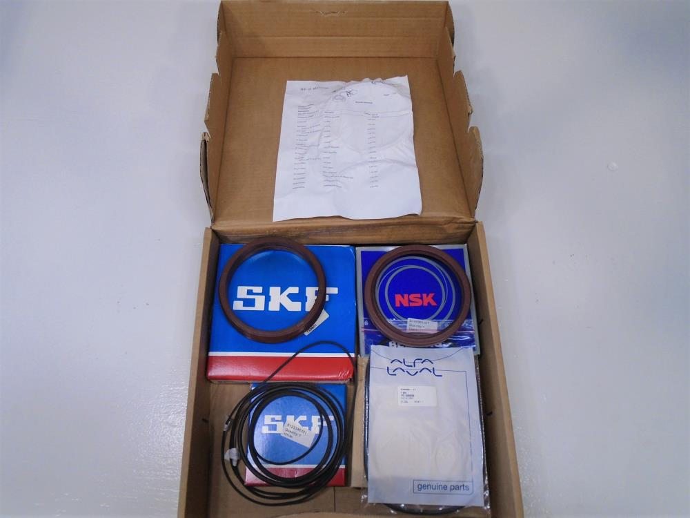Alfa Laval Major Service Kit #6123800831 with SKF Bearings