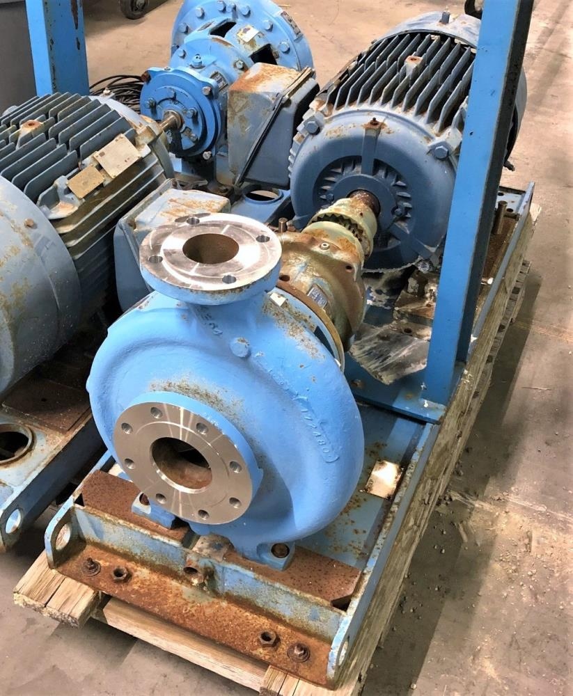 "Goulds 3196 MTX Centrifugal Pump, 3""x4""-13"", 316 SS w/ 50 HP Motor"