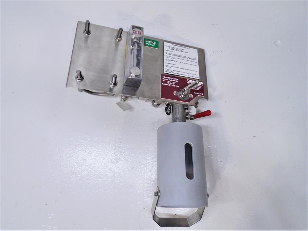 Sensor Sampling Systems Basic Bottle Sampling System BBSS-00442-01, Stainless