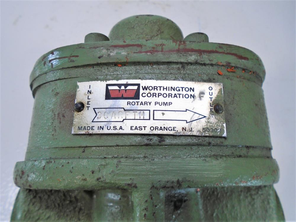 "Worthington 1"" NPT Rotary Pump 3GARFTM"