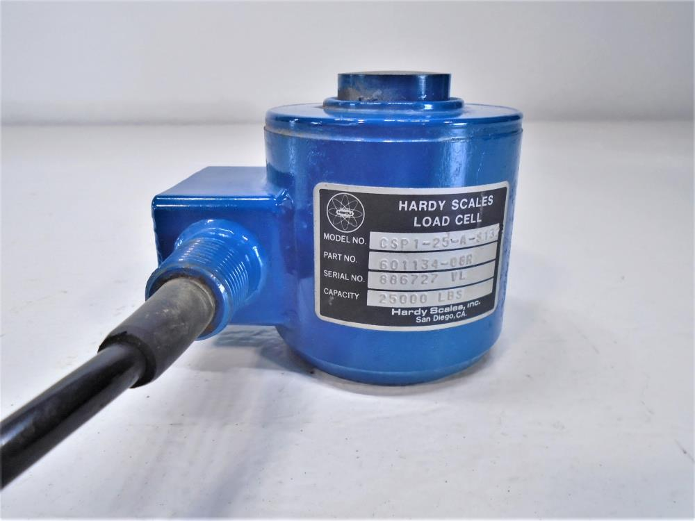 Hardy Scales 25000# Load Cell, CSP1-25-A-S1322, Part #601134-08R