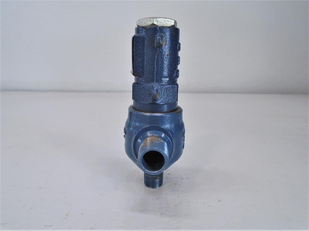"Hansen 1/2"" NPT x 3/4"" NPT EZLQ Cartridge Liquid Relief Valve, Ductile Iron"