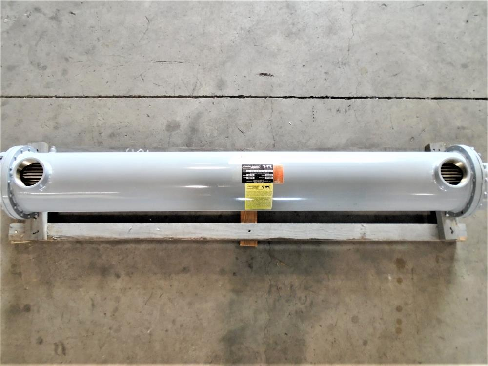 American Industrial Shell and Tube Heat Exchanger, STC-1760-4-6-FP-2Z 0119