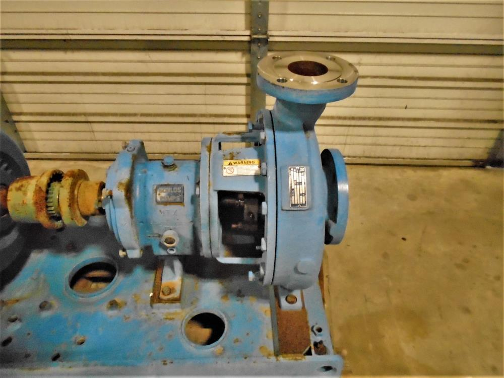 "Goulds 3196 MTX Centrifugal Pump, 3""x 4""-13"", 316 SS w/ 50 HP Motor"
