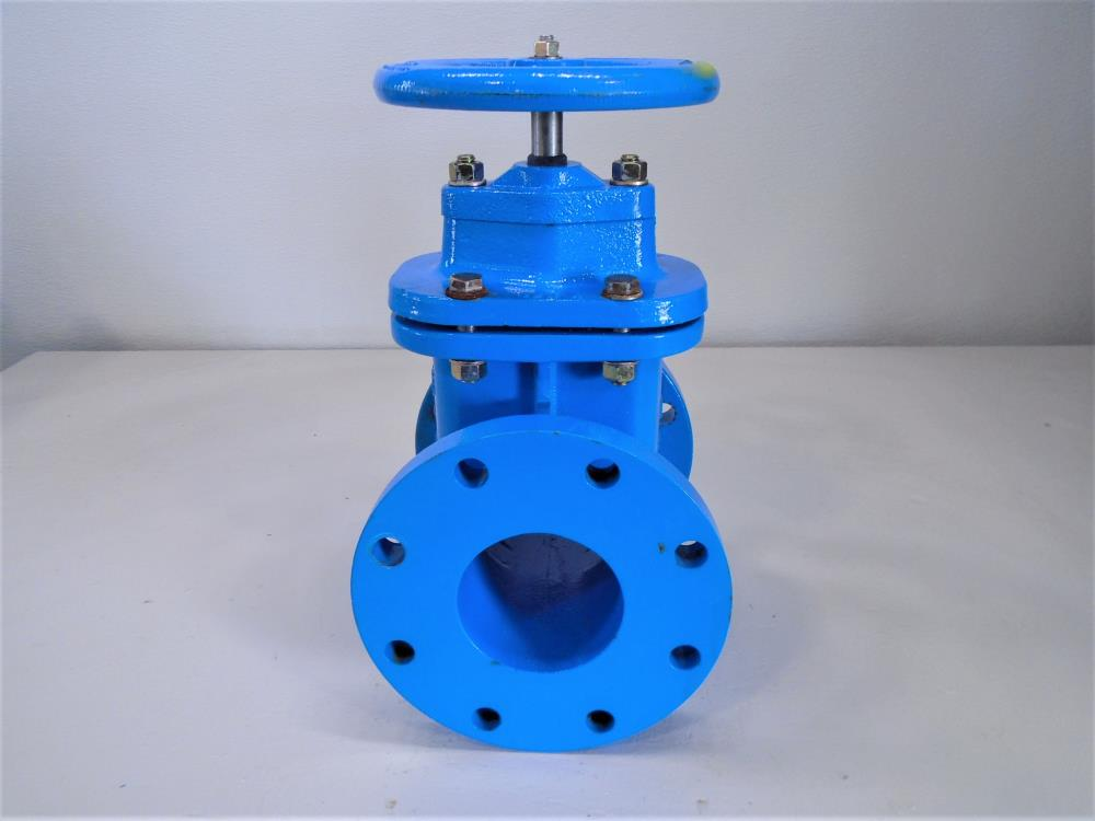 "Watts 4"" 200 CWP Resilient Wedge Gate Valve, Series 405, Cast Iron"