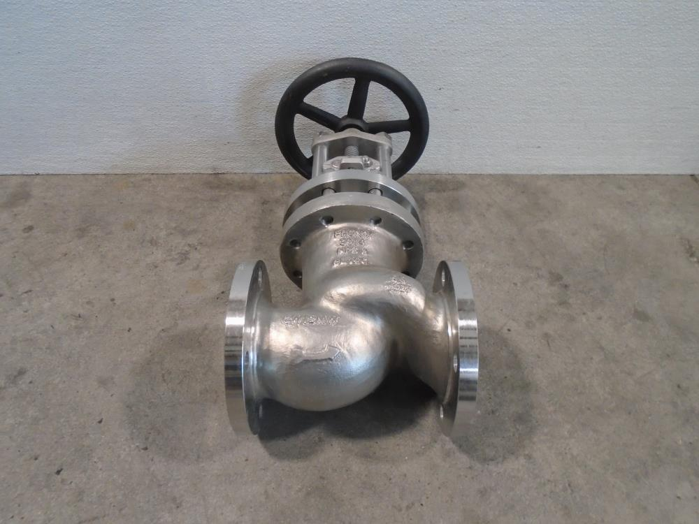 "Phonix 3"" 150# CW12MW Bellows Globe Valve"