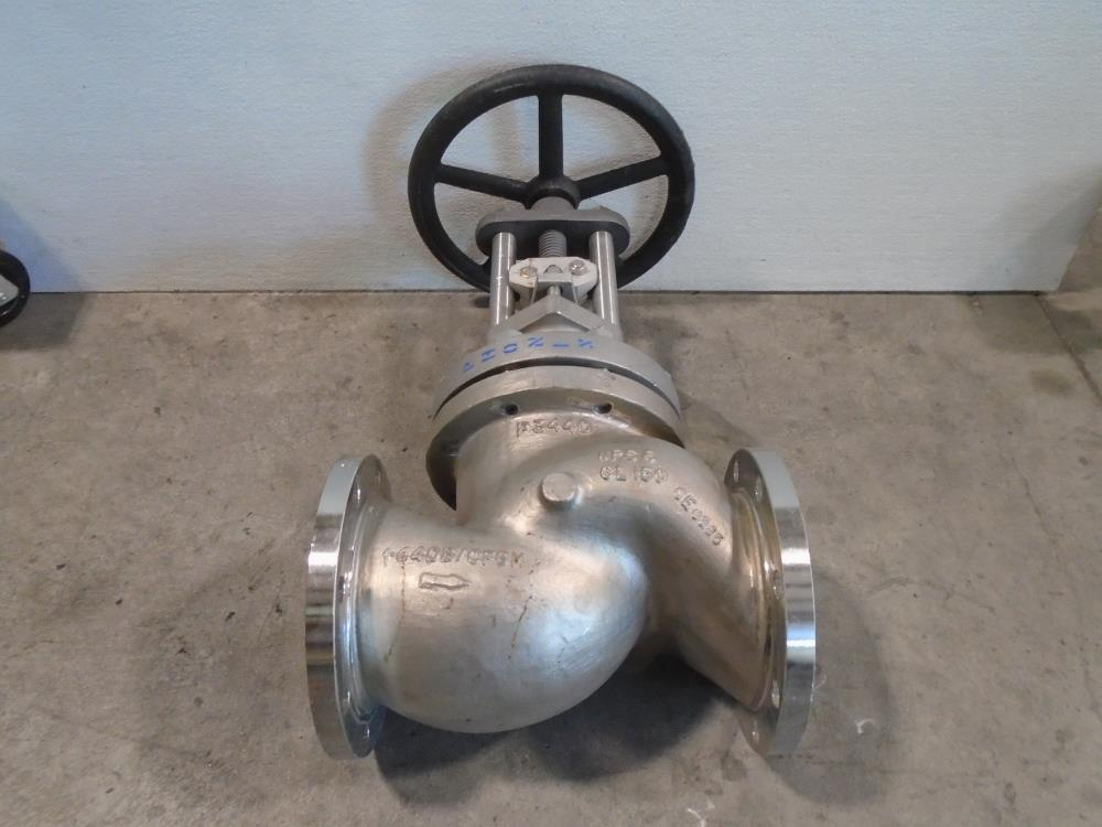"Phonix 6"" 150# Bellows CF8M Globe Valve"