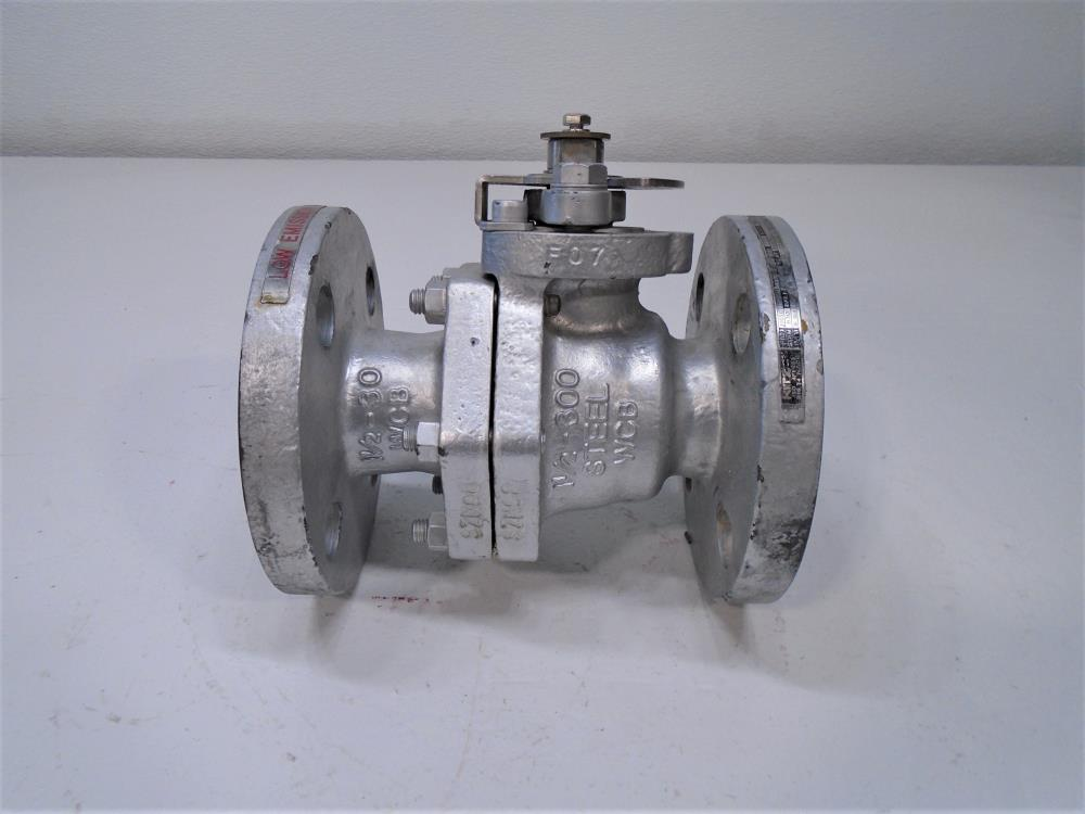 "Kitz 1-1/2"" 300# WCB Ball Valve, Fig# 300SCTDZ5HM"