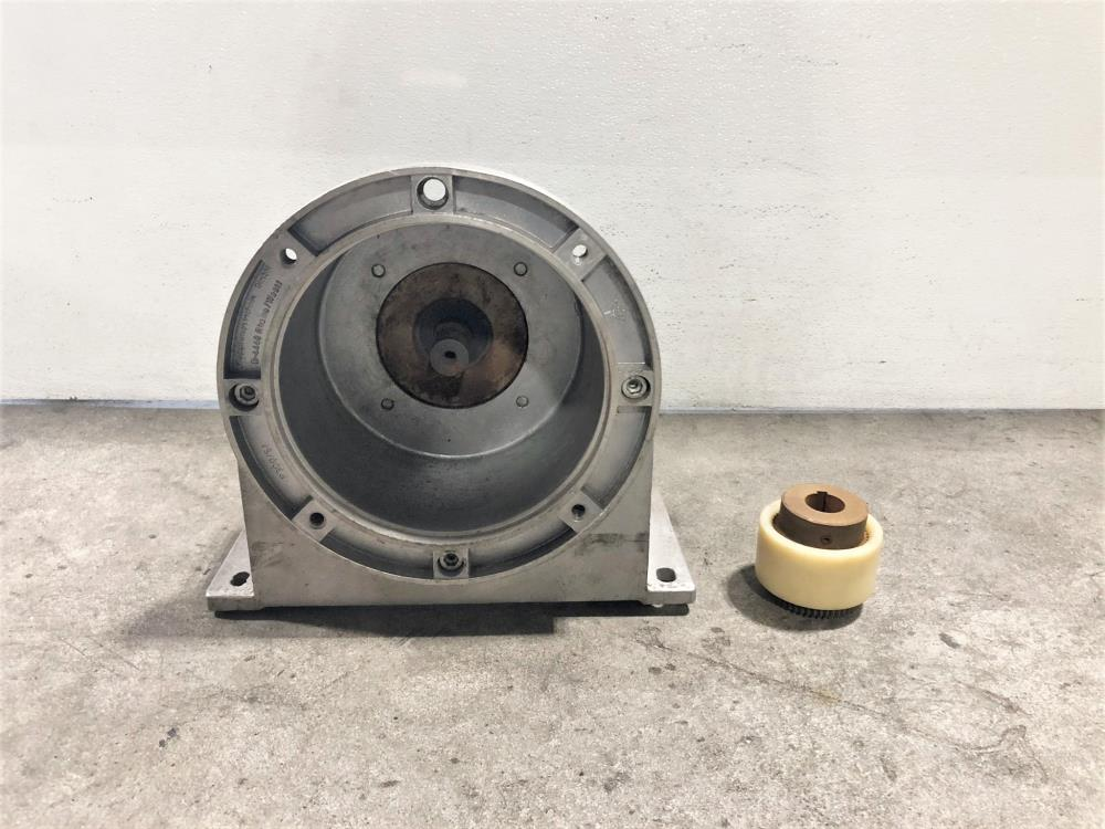 "Sperry Vickers 1-1/2"" NPT Hydraulic Gear Pump GPA3-40-E-20R w/KTR Bellhousing"