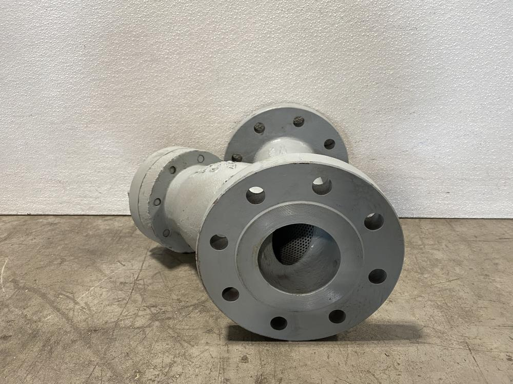 "Sure Flow 4"" 300# WCB Wye Y-Strainer YF300J"