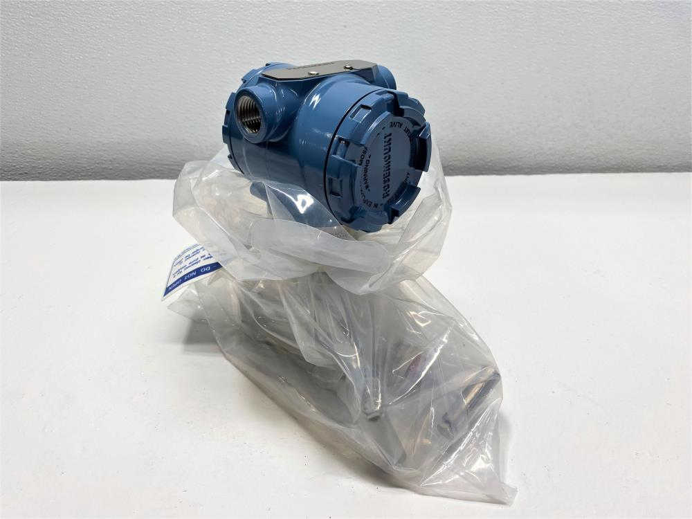 Rosemount 3051 Pressure Transmitter, 0 to 300 PSI, 3051CG4A03A2AS5E5Q4