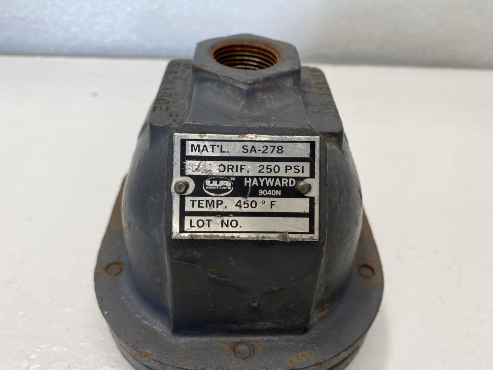 "Hayward Wright-Austin 1/2"" NPT 250# Steam Trap, SA-278 Body, #9040N"