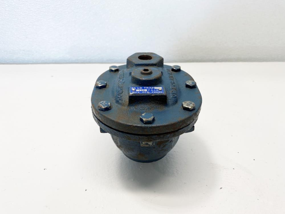 "Armstrong 21 LD Steam Trap, 3/4"" NPT, Carbon Steel, 150 PSIG"
