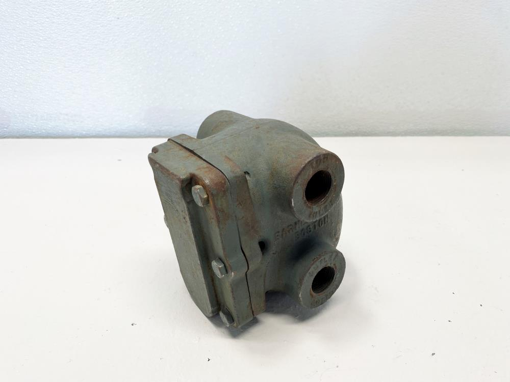 "Barnes and Jones 3/4"" NPT Carbon Steel Steam Trap"