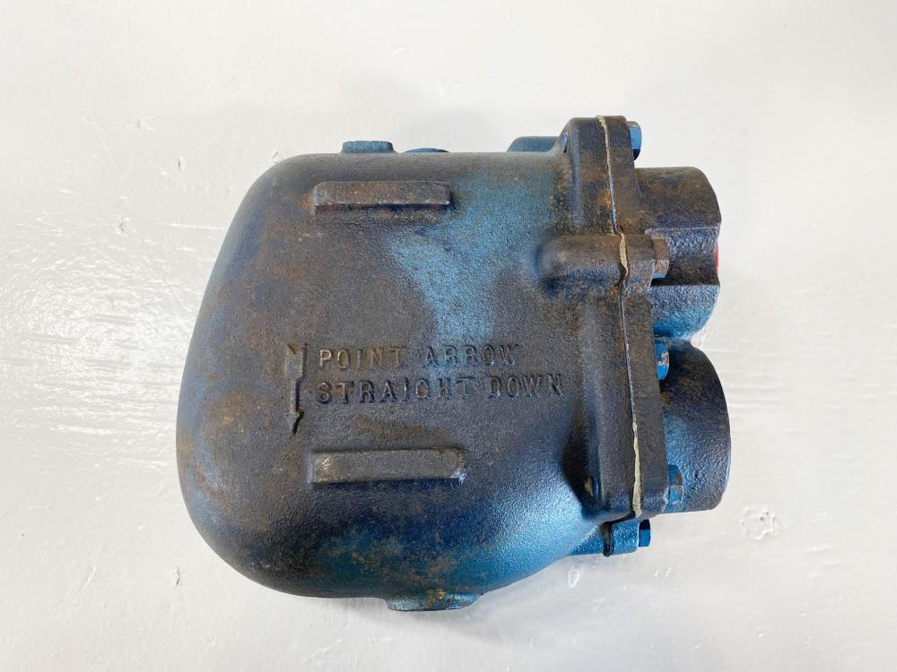 "Watson McDaniel 1-1/2"" NPT Float and Thermostatic Steam Trap FT-125"
