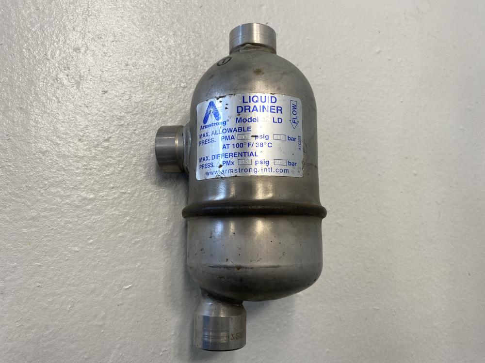"Armstrong 3/4"" NPT Liquid Drainer, 22LD, 600 PSIG Max"
