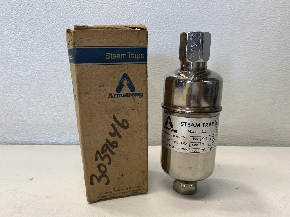 "Armstrong 1011 Steam Trap 1/2"" NPT, 400 PSIG"