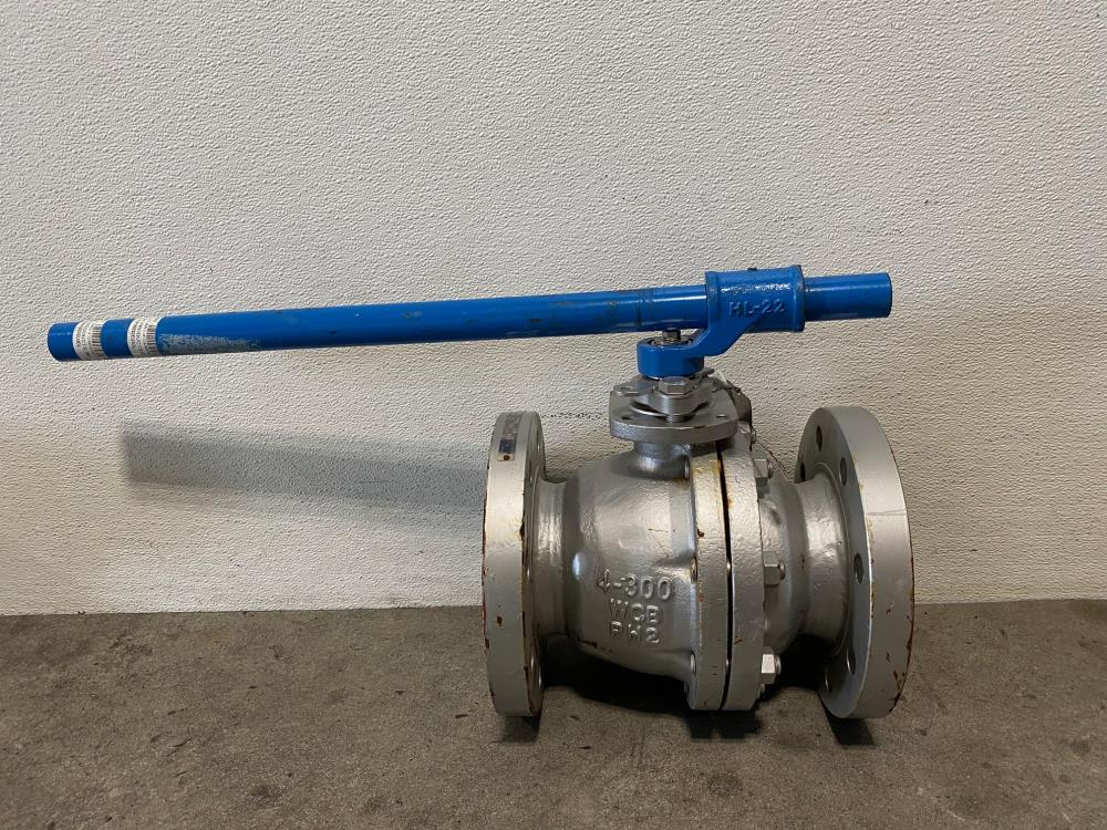 "Tyco Flow Control KTM 4"" 300# WCB Split Body Ball Valve EB162-32EU"
