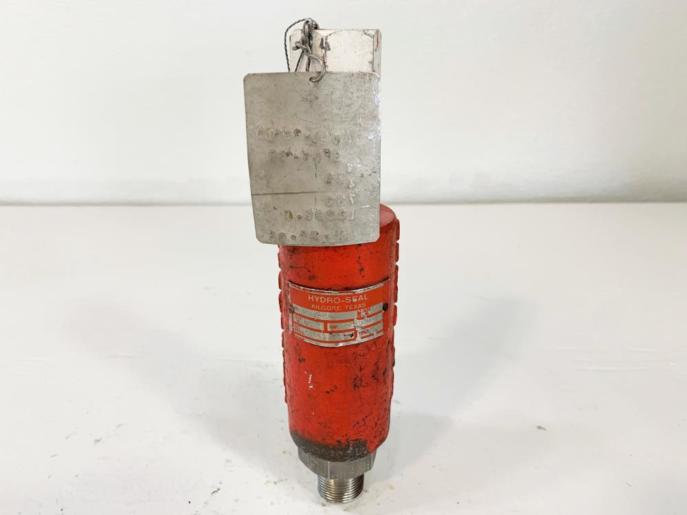 "Hydro-Seal 1/2"" x 3/4"" NPT 750# CF8M Relief Valve 3FRV-30"