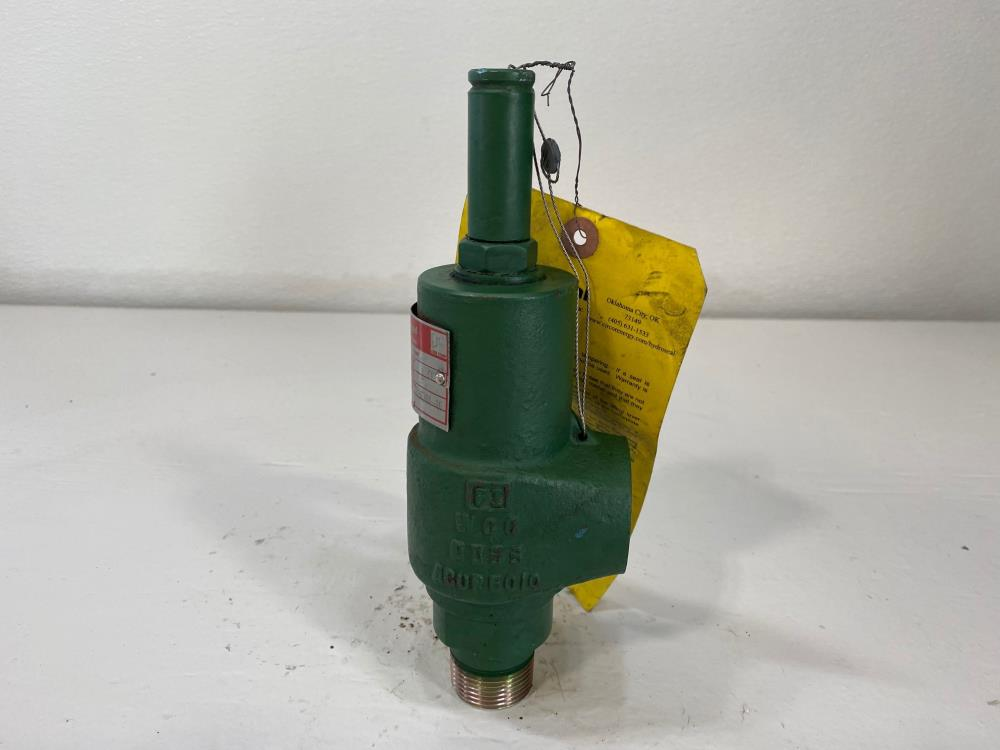 "Hydroseal 1"" NPT 1440# WCC Relief Valve 14BE3M0P00/F0"