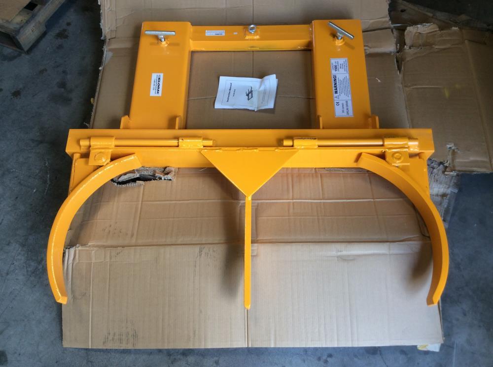 Global Industrial DG20 Forklift Double Drum Gripper 1500 Lb. Cap.