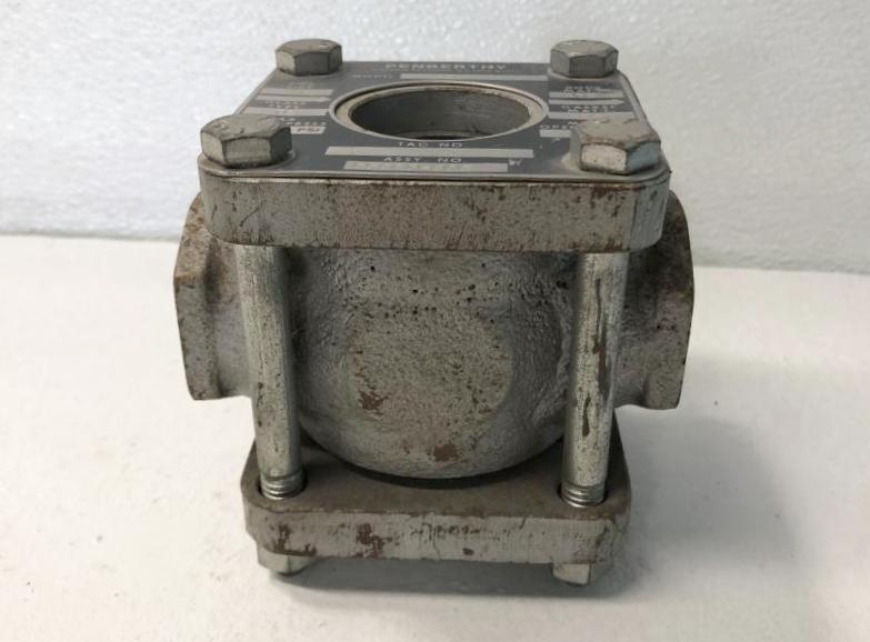 "Penberthy SFR 1"" NPT Steel Sight Flow Indicator w/ Rotor"