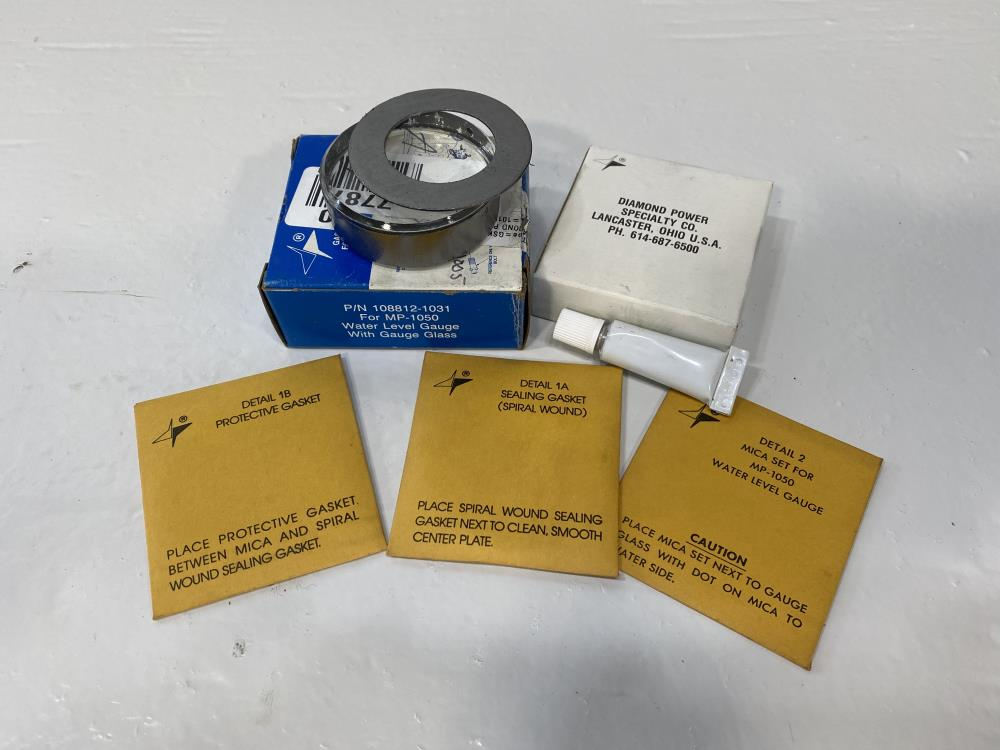 Diamond Power Gasket Kit w/ Gauge Glass 108812-1031