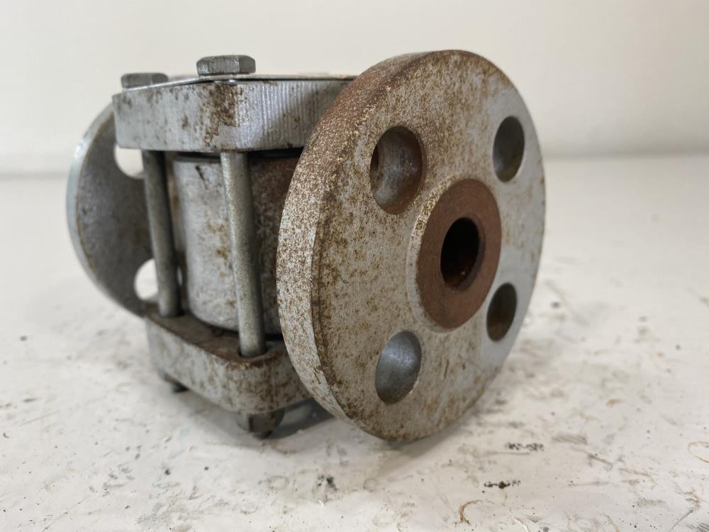 "Penberthy 1/2"" Flanged Steel Sight Flow Indicator w/ Rotor SFR-1/2"