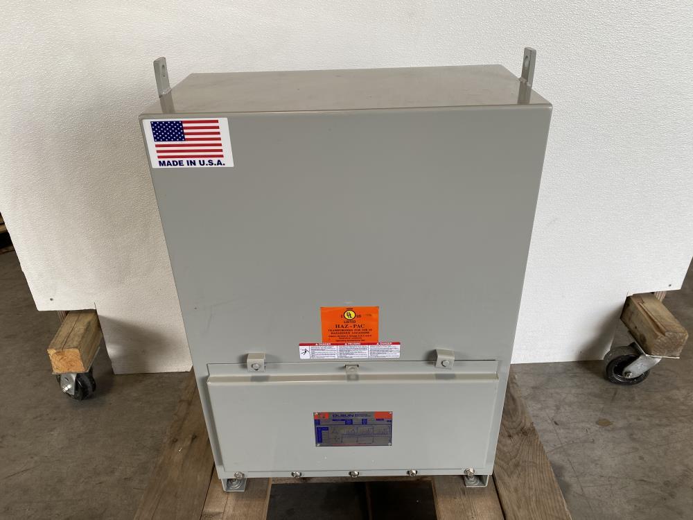 Olsun Dry Type Transformer 30 KVA, 480 HV, 208Y/120 LV, 3-PH, A51171 10505-1-1-1