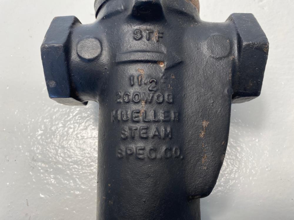 """Mueller 1-1/2"""" NPT Cast Iron Steam Trap 1.5-125-02"""