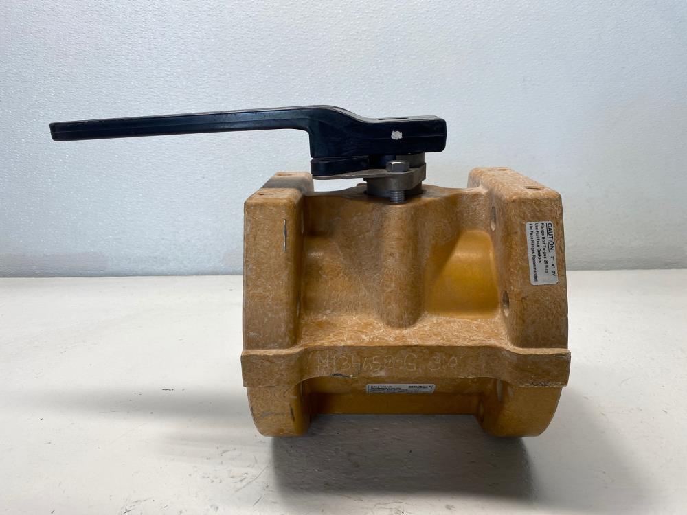 "Nil-Cor 4"" 150# Fiberglass Flanged Ball Valve 310-ST-T-H-S"