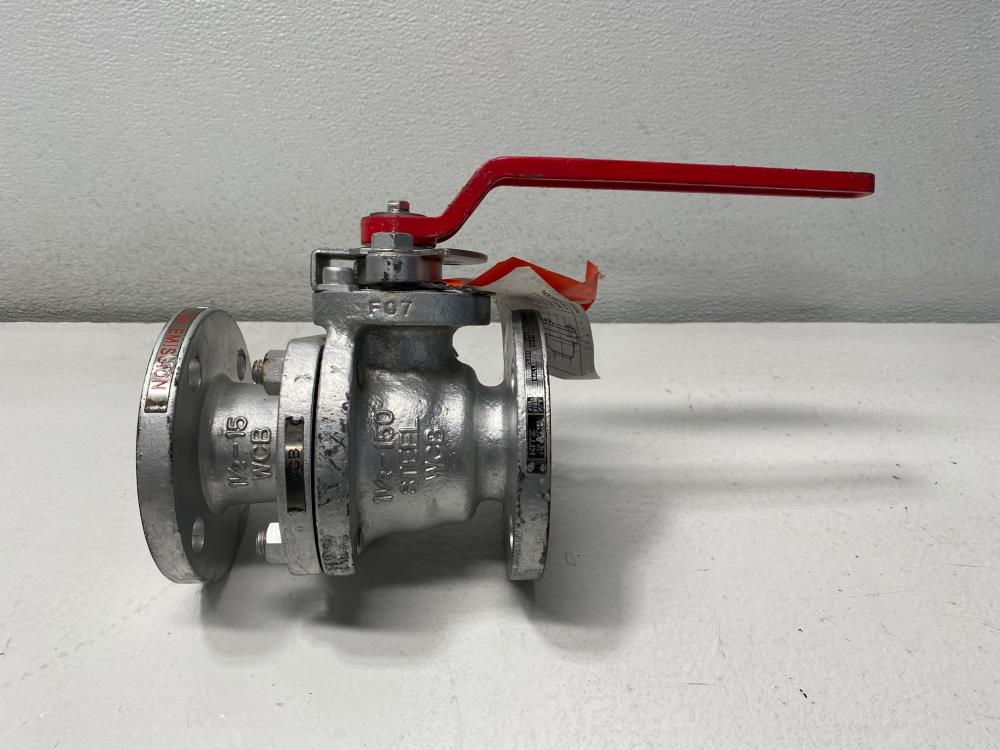 "KITZ 1.5"" 150# RF WCB and 316SS Full-Port Flanged Ball Valve 150SCTDZ6HM"