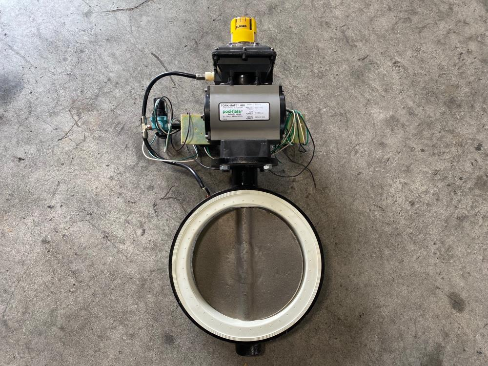 "Posi-Flate 10"" 150# Butterfly Valve with Tork-Mate Actuator RPB1000, 4035661"