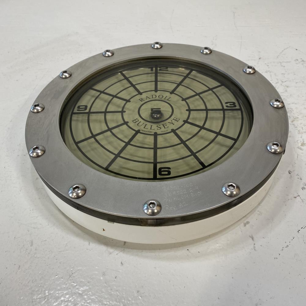 "Radoil 45# Inclinometer Bullseye Assembly, 12"" Face Diameter 190.107 05 01 A13"