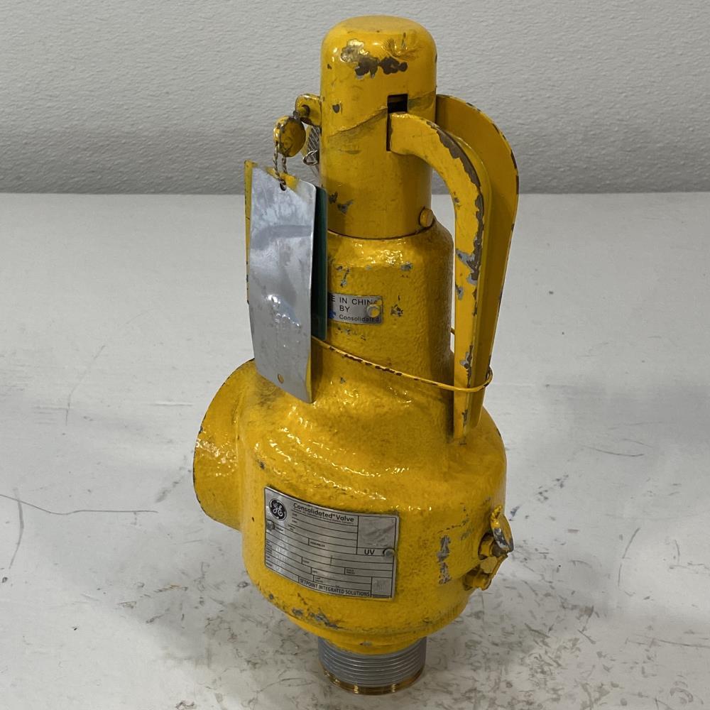 """GE Consolidated 1-1/2"""" MNPT X 2"""" FNPT Bronze Relief Valve, 1543-H-21-BR"""