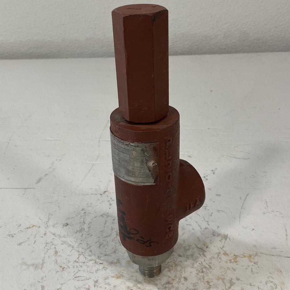 "Hydro-Seal 1/2"" MNPT x 3/4"" FNPT WCB Relief Valve, 1BV00N/E0"