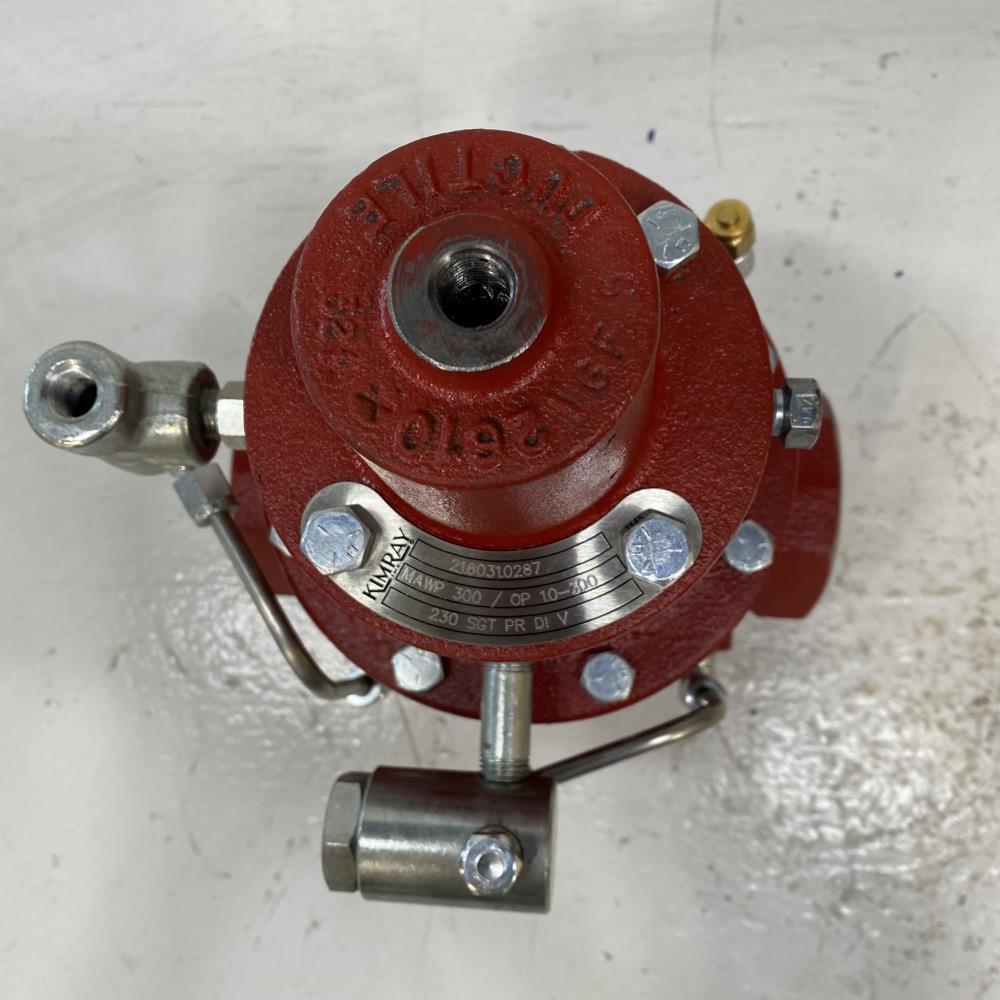 "Kimray 2"" DI Pilot Operated Gas Back Pressure Reducing Regulator 230 SGT PR DI V"