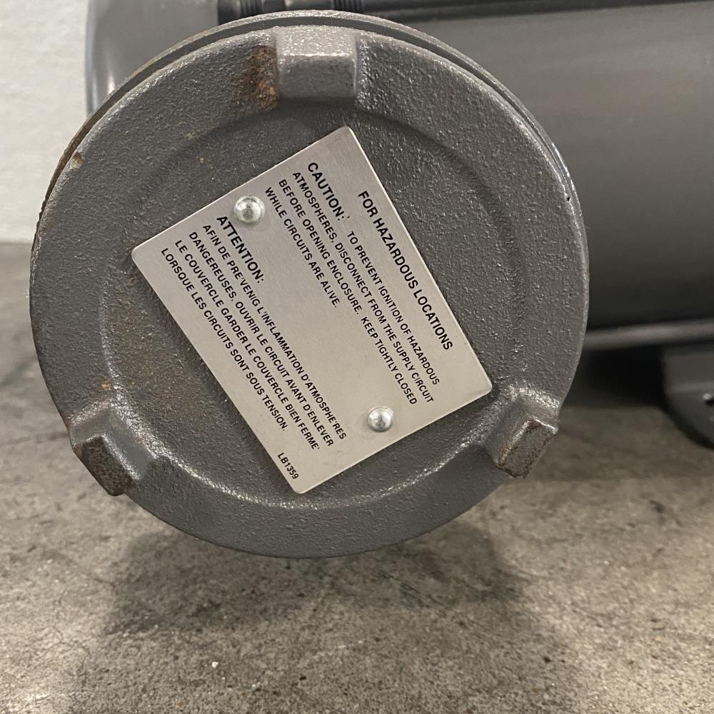 CCI Thermal Baldor Electric #1979 Motor for Hazardous Locations .5 HP