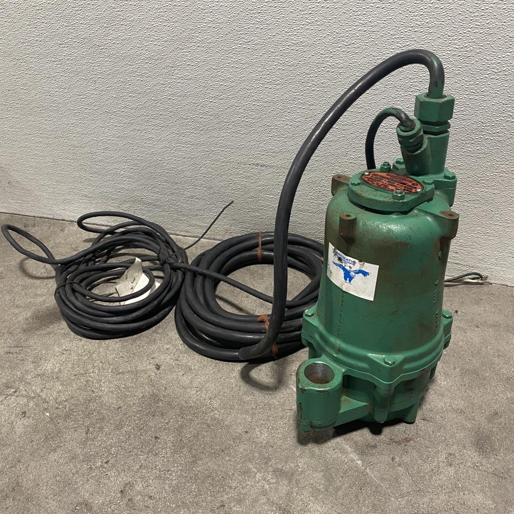 "Aurora Hydromatic 1-1/4"" Submersible Sewage Gutter Pump SPGL200M4-2"
