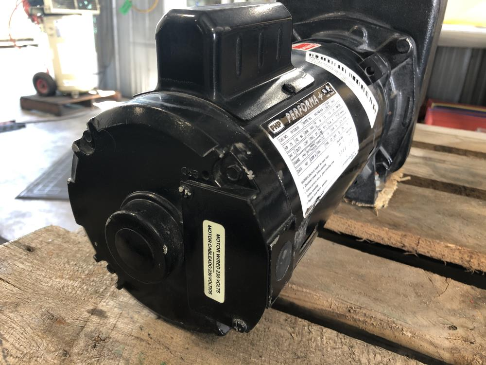 "Dayton 1-1/2"" NPT CI Self-Priming Centrifugal Pump 4UA69 with .75 HP Motor"