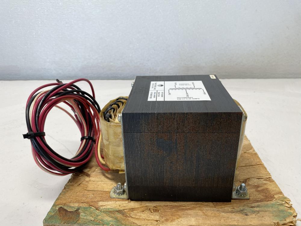 Tinitron Transformer 1.2 KVA; 720 VAC, 220 VAC Secondary, 1219-5117-00