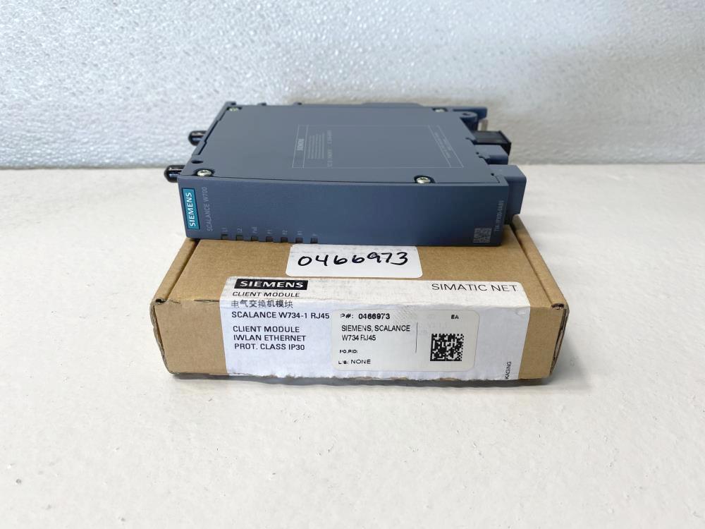 Siemens SIMATIC NET IWLAN Client Module MSN-W1-RJ-E2 Scalance W734-1 RJ45